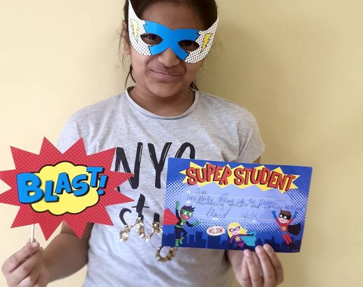 Congratulations to Jiya, Super Student of the week