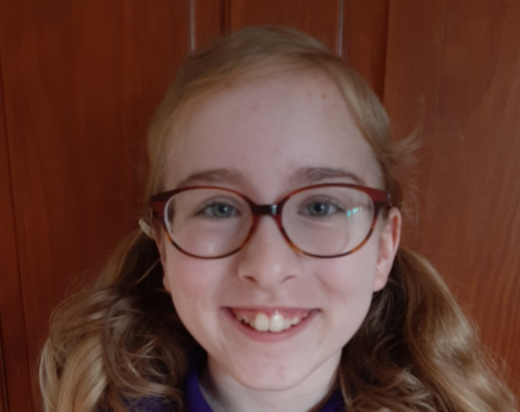 Congratulations to Lucinda, this week's super student